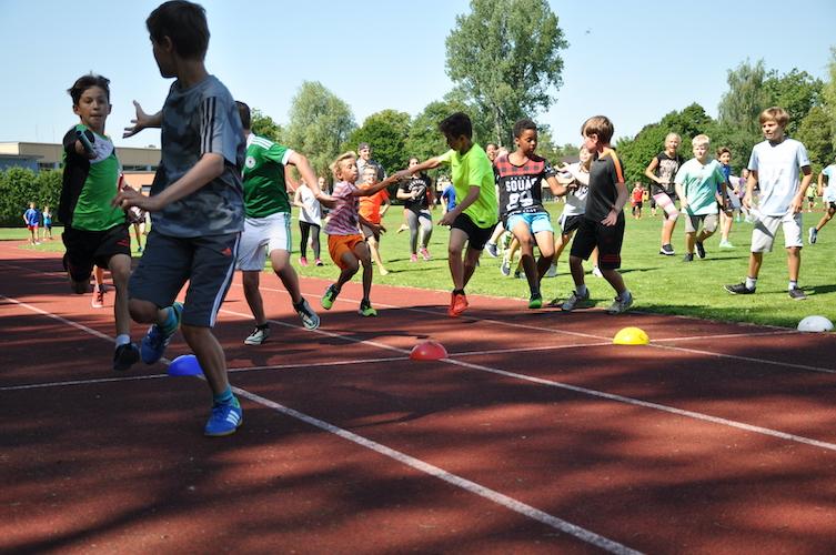 Staffellauf bei den Bundesjugenspielen