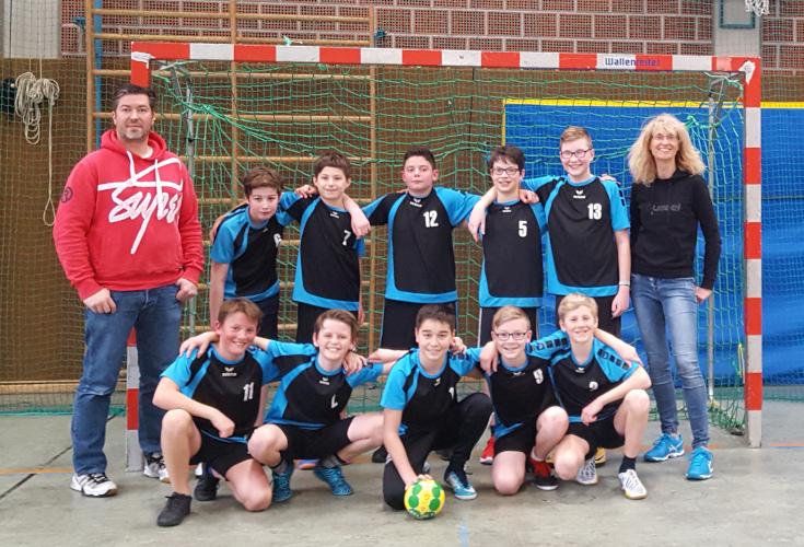 Schulmannschaft Handball