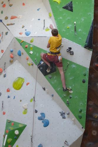 Wahlfach Klettern