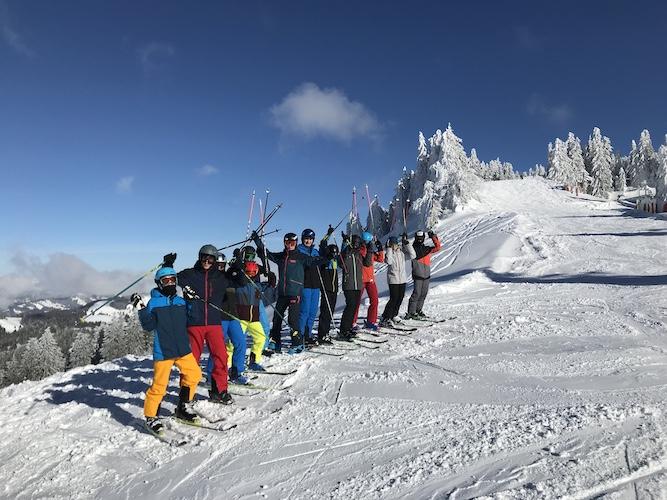 Wintersportwochen der 8. Klasse